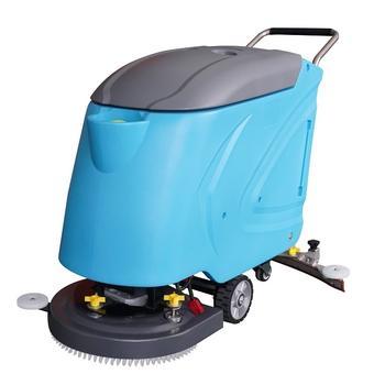 580 Hand push floor scrubber machine